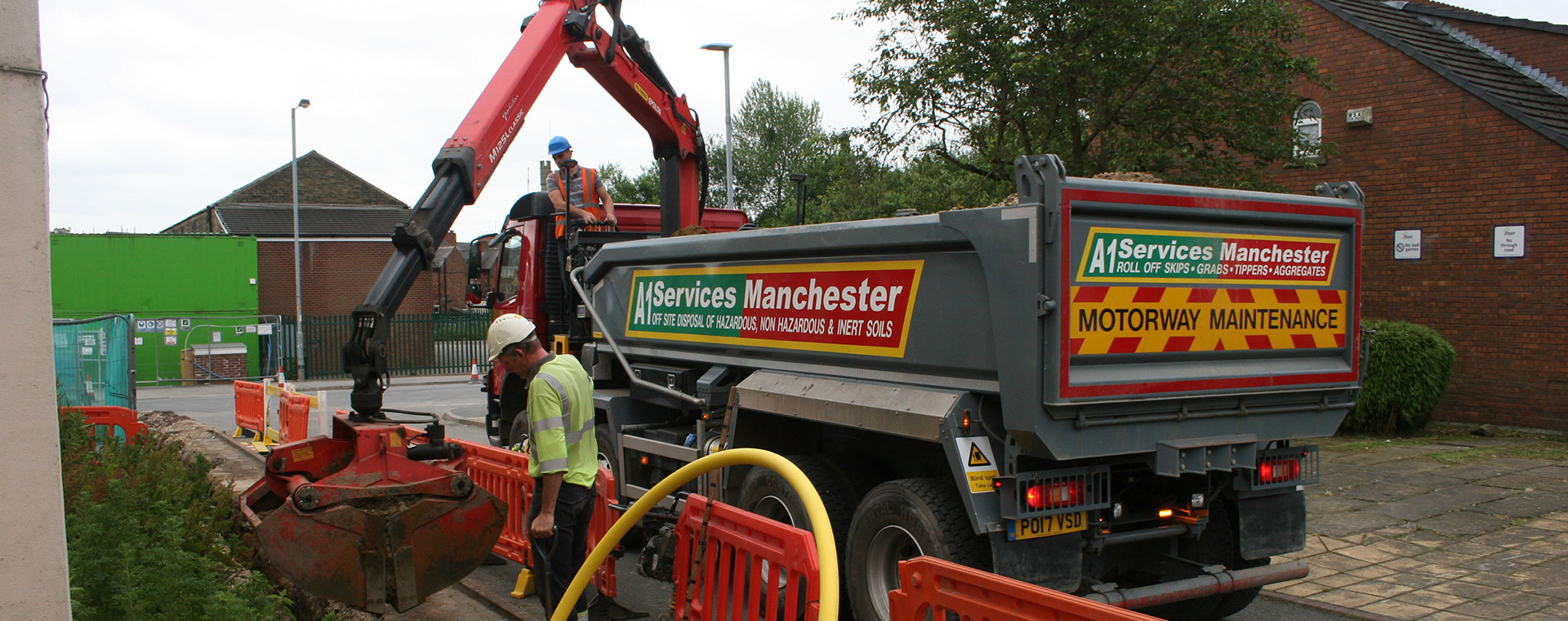A1 Grab Hire Manchester